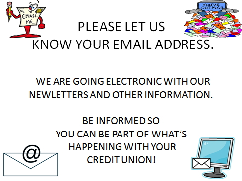 Please Let Us know Your Email Address
